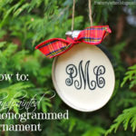 """M"" is for Monogrammed Ornament"