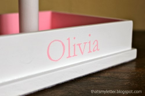 diy personalized jewelry stand