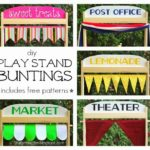 """P"" is for Play Stand Buntings"