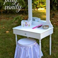 DIY Play Vanity