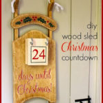 """S"" is for Sled Christmas Countdown"