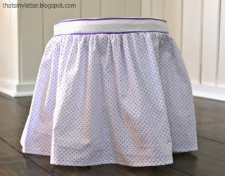 diy fabric slipcover for kids stool