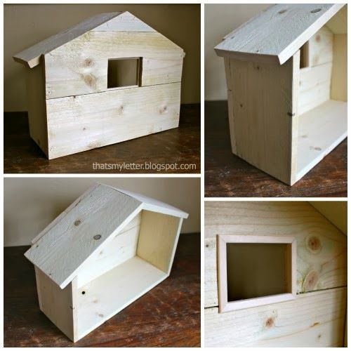 DIY Wood Manger - Jaime Costiglio