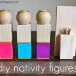 DIY Wood Nativity Figures