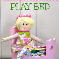 DIY Princess & the Pea Play Bed