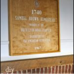 """H"" is for Historical Plaque"