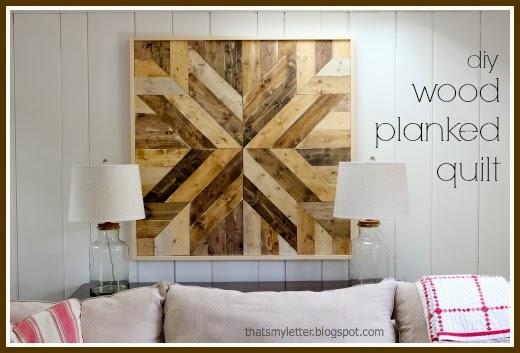 DIY Wood Planked Quilt - Jaime Costiglio