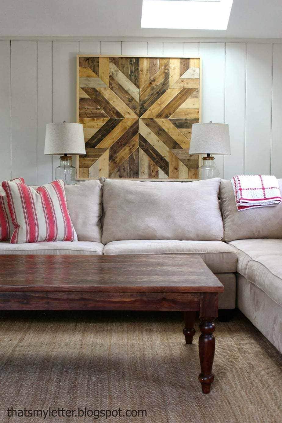 Diy Wood Planked Quilt Jaime Costiglio