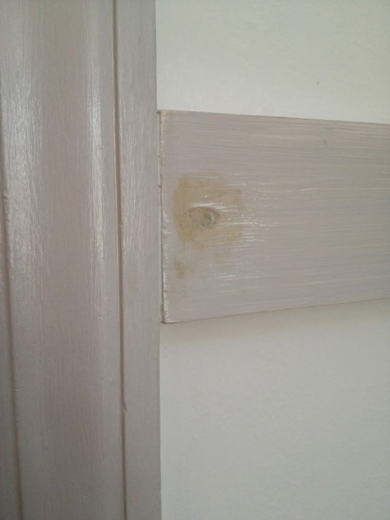 wood putty over screw heads