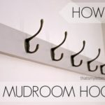 How to Install Mudroom Hooks