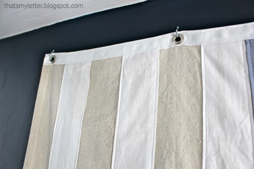 hooks and grommets to hang flag