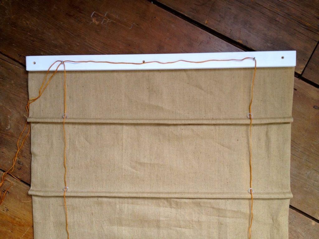 thread cording through washers
