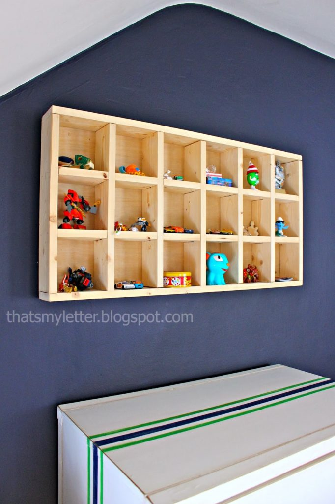 diy cubby shelf