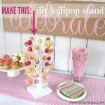 DIY Lollipop Stand