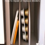 How to Repair or Install Pan Cabinet Storage Dividers