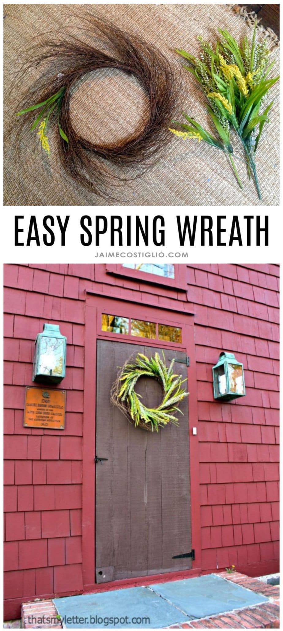 east spring wreath