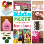 """K"" is for Kids Party Decor & Favors"