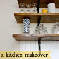 Farmhouse Style Kitchen Makeover