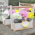 DIY Mason Jar Carrier