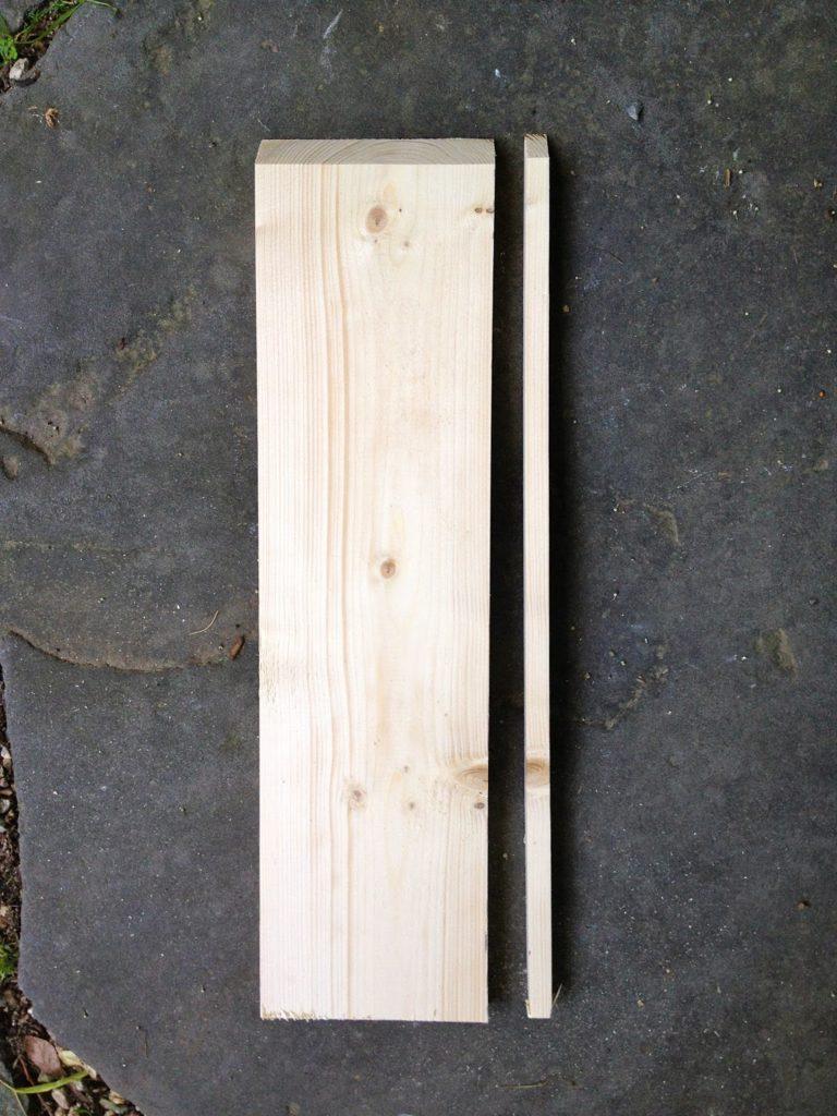 trim 1x6 leg wrap