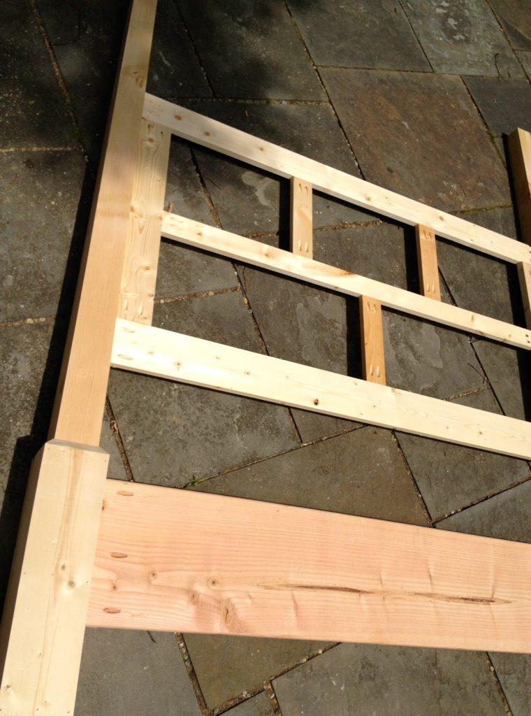 poster bed headboard frame