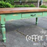 DIY Coffee Table (with drawer)