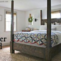 DIY Poster Bed