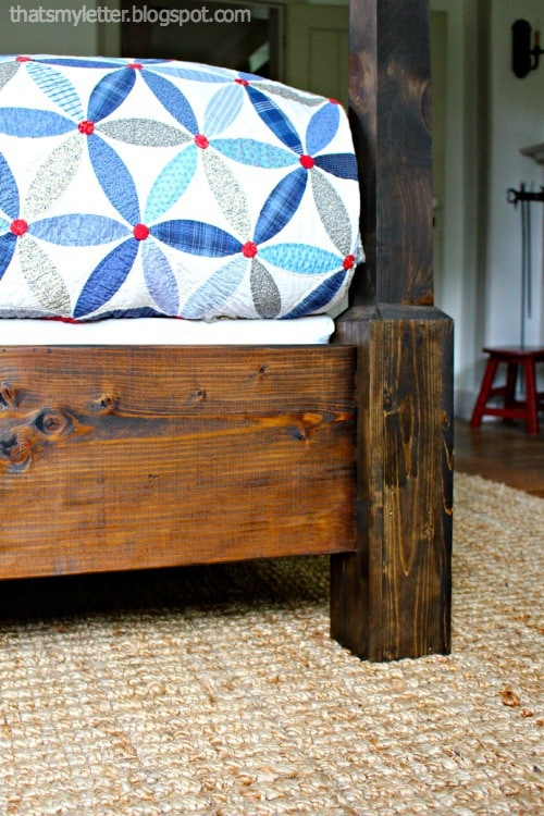 detail poster bed sideboard