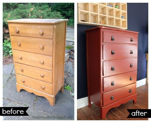 dresser makeover before and after