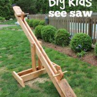 DIY See Saw