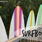 """S"" is for Surfboard Decor"