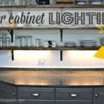 DIY Under Cabinet Lighting