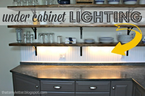 Diy under cabinet lighting jaime costiglio diy under cabinet lighting aloadofball Image collections