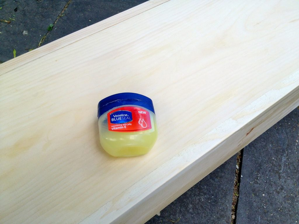 vaseline finish technique