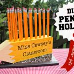 """P"" is for Pencil Shaped Pencil Holder"