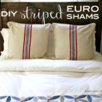 """S"" is for Striped Euro Shams"
