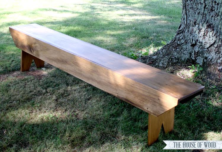 House of Wood bench