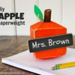 """A"" is for Apple Paperweight"
