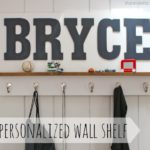 DIY for Wall Shelf with Hooks