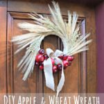 """A"" is for Apple & Wheat Wreath"