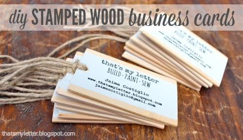 Diy scrap wood projects home decor jaime costiglio i made my business cards from wood scraps too these little gems are not exactly home decor but this project could translate into a gift tag or other reheart Gallery