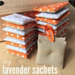 DIY Lavender Sachet Party Favors