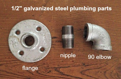 plumbing parts for sliding door hardware