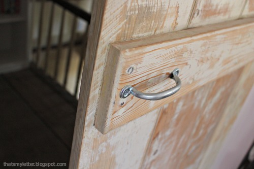 handle pull for barn door