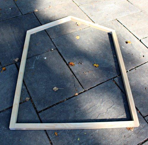 open frame end built