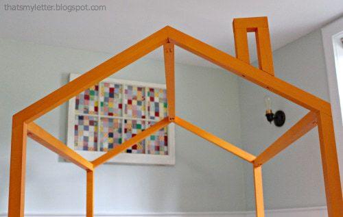 open frame kids playhouse