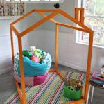 DIY 2×2 Playhouse Frame