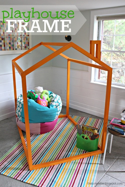 diy 2x2 playhouse frame