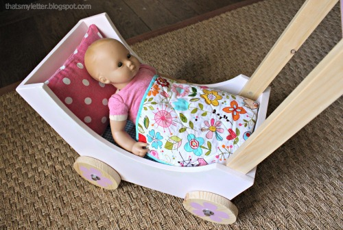 doll pram with baby doll