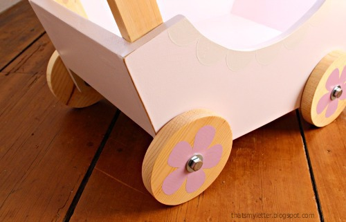 diy doll pram wheels